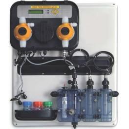 R gulateur automatique de ph et chlore pour piscine a for Chlore et piscine