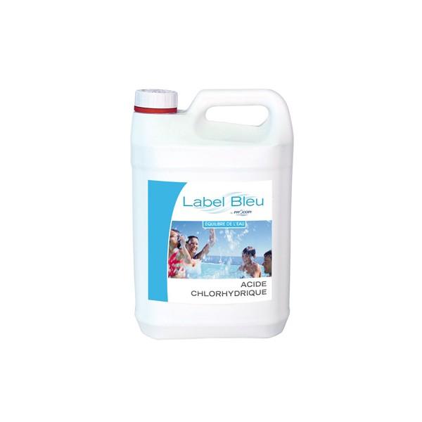 Acide chlorhydrique 33 ph moins manuel 5 kg - Acide chlorhydrique pour piscine ...