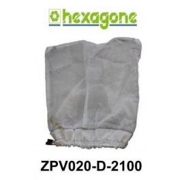 Filtre, grand sac XL standard pour balai Quick Vac hexagone